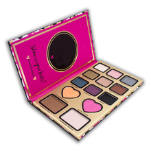 Too Hot Sell 13 Colors Faced The Power Of Makeup Heart Shaped Eye Shadow Palette