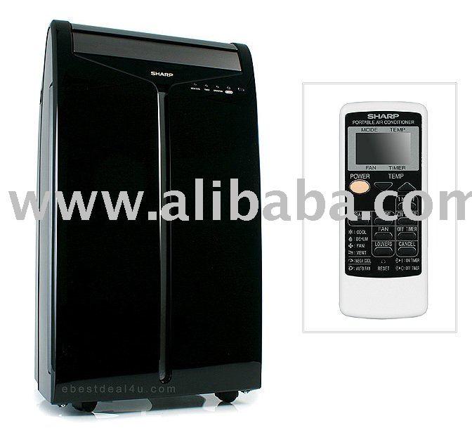 New Sharp Cv-10nh Portable Air Conditioner 10,000btu -black - Buy Air  Conditioner Product on Alibaba.com