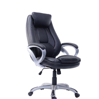 Good quality executive furniture black ergonomic swivel casual office chair