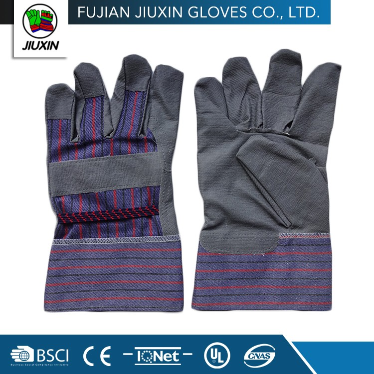 Factory Supply Cheap Custom Multipurpose Grey Pvc Impregnated Work Gloves