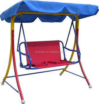 Outdoor Kids Patio Canopy Swing Chair