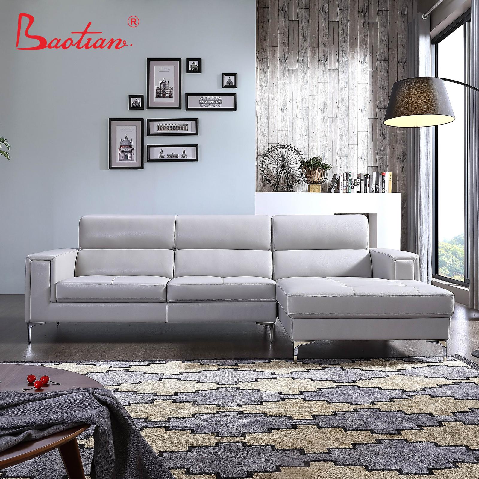 Modern Style Leather Sofa Set 7 Seater