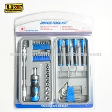 multifunctional 35pc mini Ratchet Screwdriver bit Set