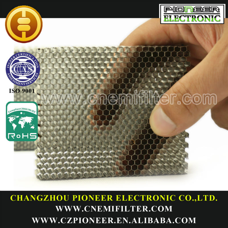 shielding Honeycomb Use for Shielding room, Steel Honeycomb filter, View  shielding Honeycomb, PIONEER Product Details from Changzhou Pioneer