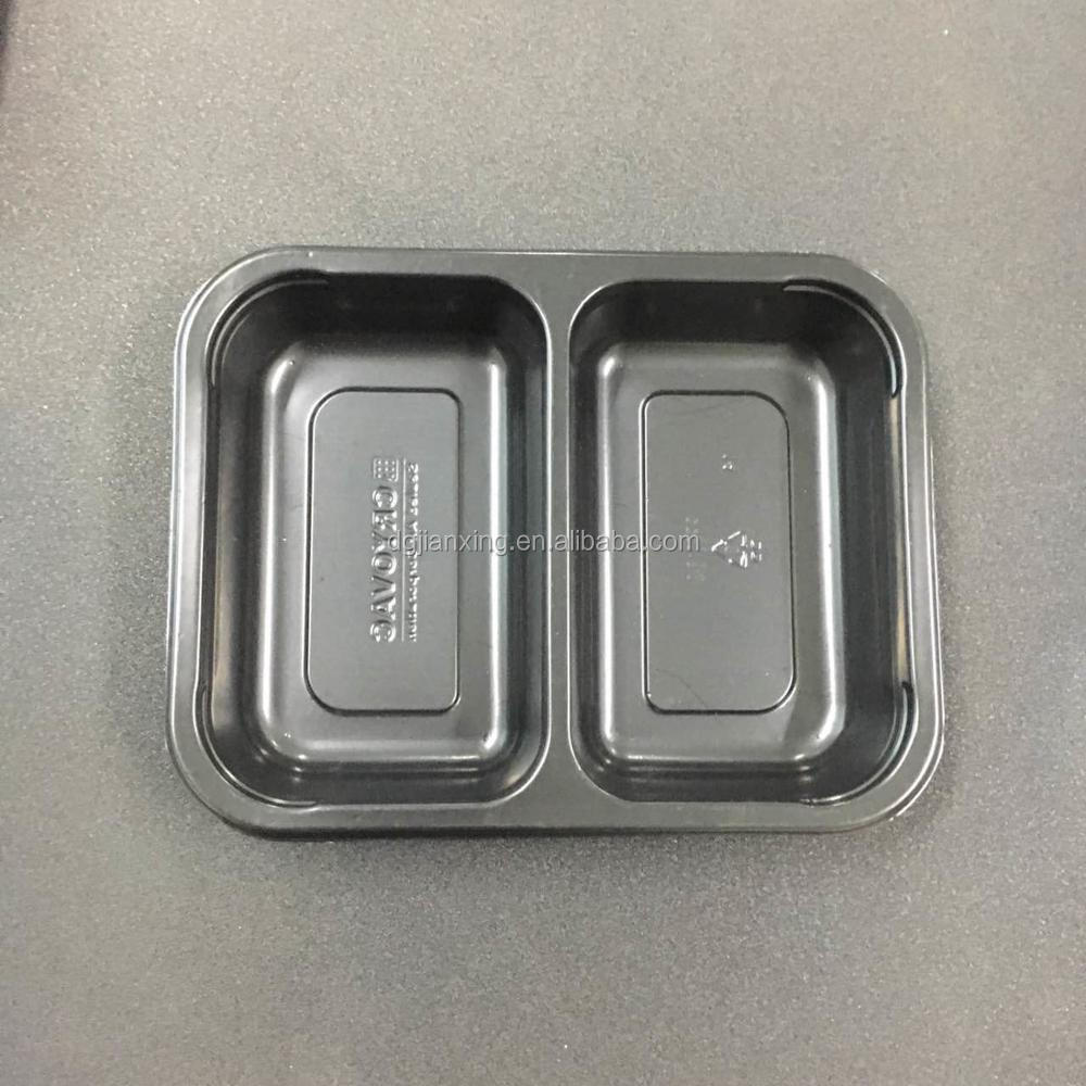 Plastic 2 components disposable tiffin containers/lunch box