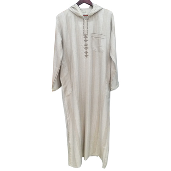 Arab Men Robes/ Islamic Mens Thobe / Moroccan Hooded Robe For Men ...