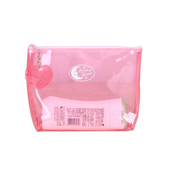 Factory Price Customised Waterproof Transparent Plastic PVC Zipper Bag