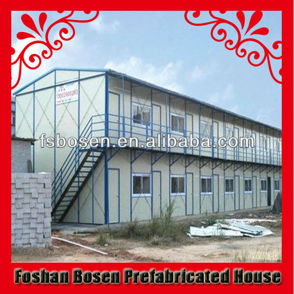 fast building construction for folk house accommodation apartment flat