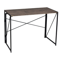Foldable Wood and Small Table Folding Computer Laptop Desks Study Table for Writing Spaces Saving Office Furniture