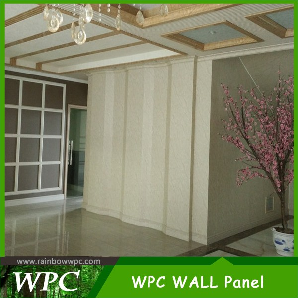 China supplier wpc panels for ceiling fans, wpc ceiling for outdoor and indoor made in China
