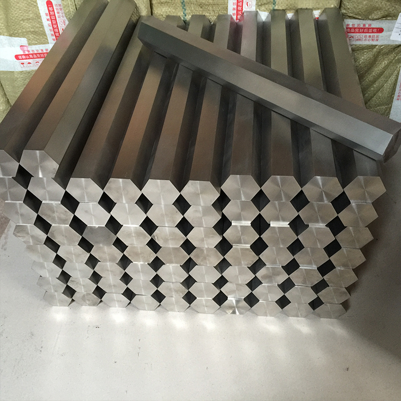 2017 hot selling titanium hexagonal bar price per kg titanium