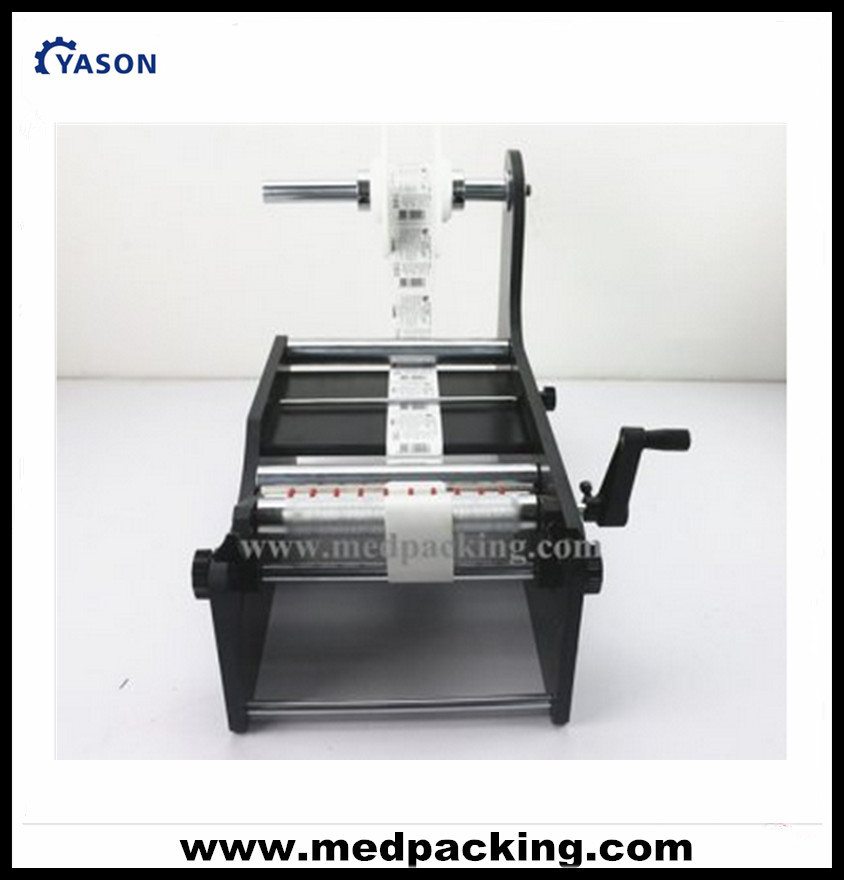 Economic Simple Manual Handy Round Bottle Labeling Machine