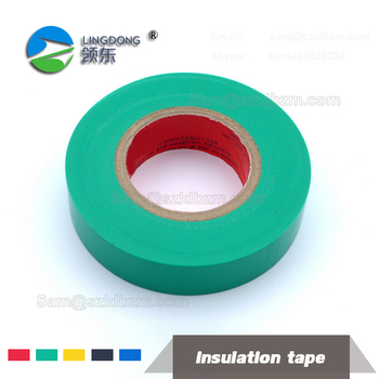 PVC lime green electrical tape