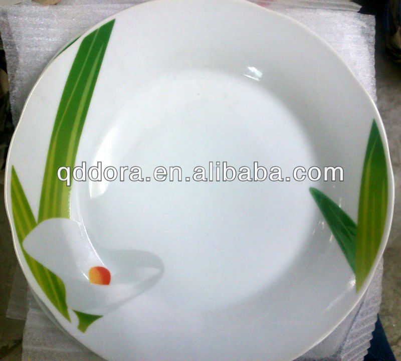 ceramic turkey plate,ceramic plates in guangzhou,8 inch ceramic salad plate