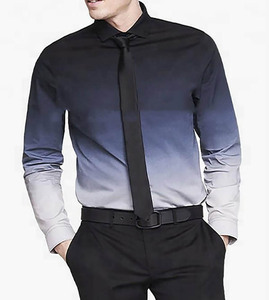 Customized professional Durability 100% Oxford White Fabric long sleeves skinny men's dress shirt
