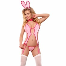 Amazon supplier Best price animal sexy bunny cosplay halloween adult lady sexy costume