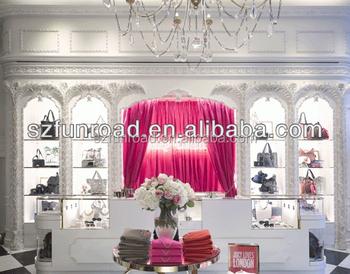Luxury Handbags Display Cabinet Showcase For Bag Decoration