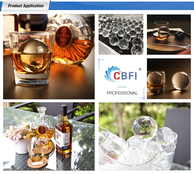 100% Crystal Transparent Roundness Mini Ice Ball Machine