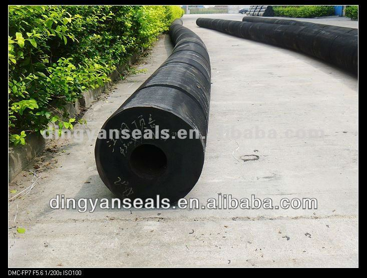 Semi-Circular( cylinder) Rubber Fender rubber fender for ship