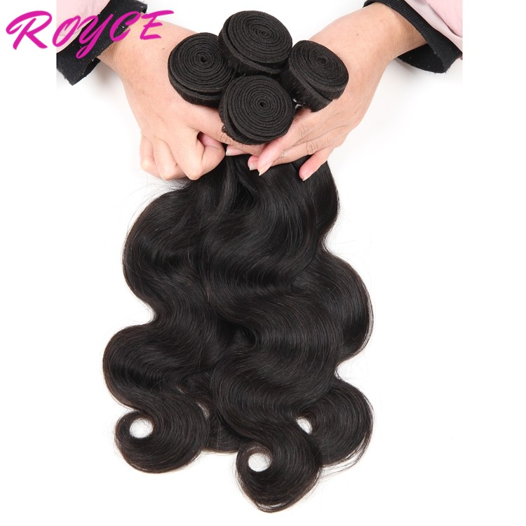 Unprocessed Human Virgin Hair 8a Malaysian Body Wave Human Remy Hair