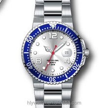 316l 5ATM water resistant Japan movement men IPG stainless steel wrist watch