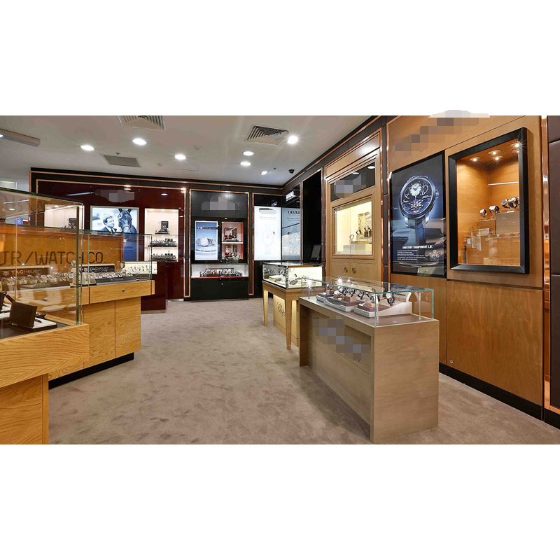 Customized Watch Shops Furniture Decoration Design