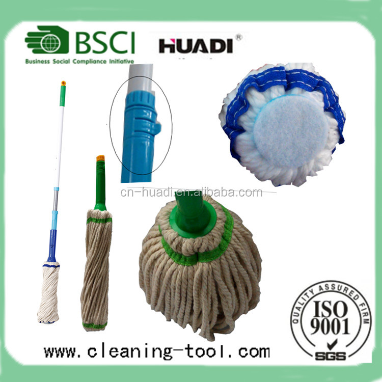 Hot Sale Telescopic Handle Cotton Twist Mop Magic Twist Mop HD1737