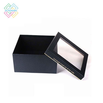 ad63ee68e Personalizado mini promocional cartón maleta papel mate caja de regalo de  cartón negro