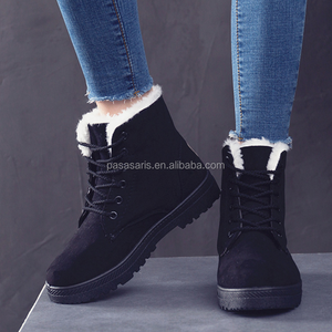 AL6016SW Fashion warm new arrival women ankle boots lady shoes winter cotton-padded snow boot