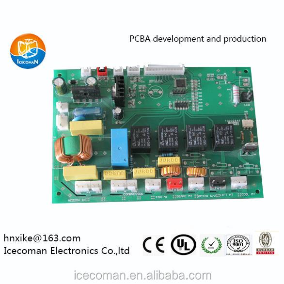 Smart professional multi function snow ice machine ice maker control board pcba