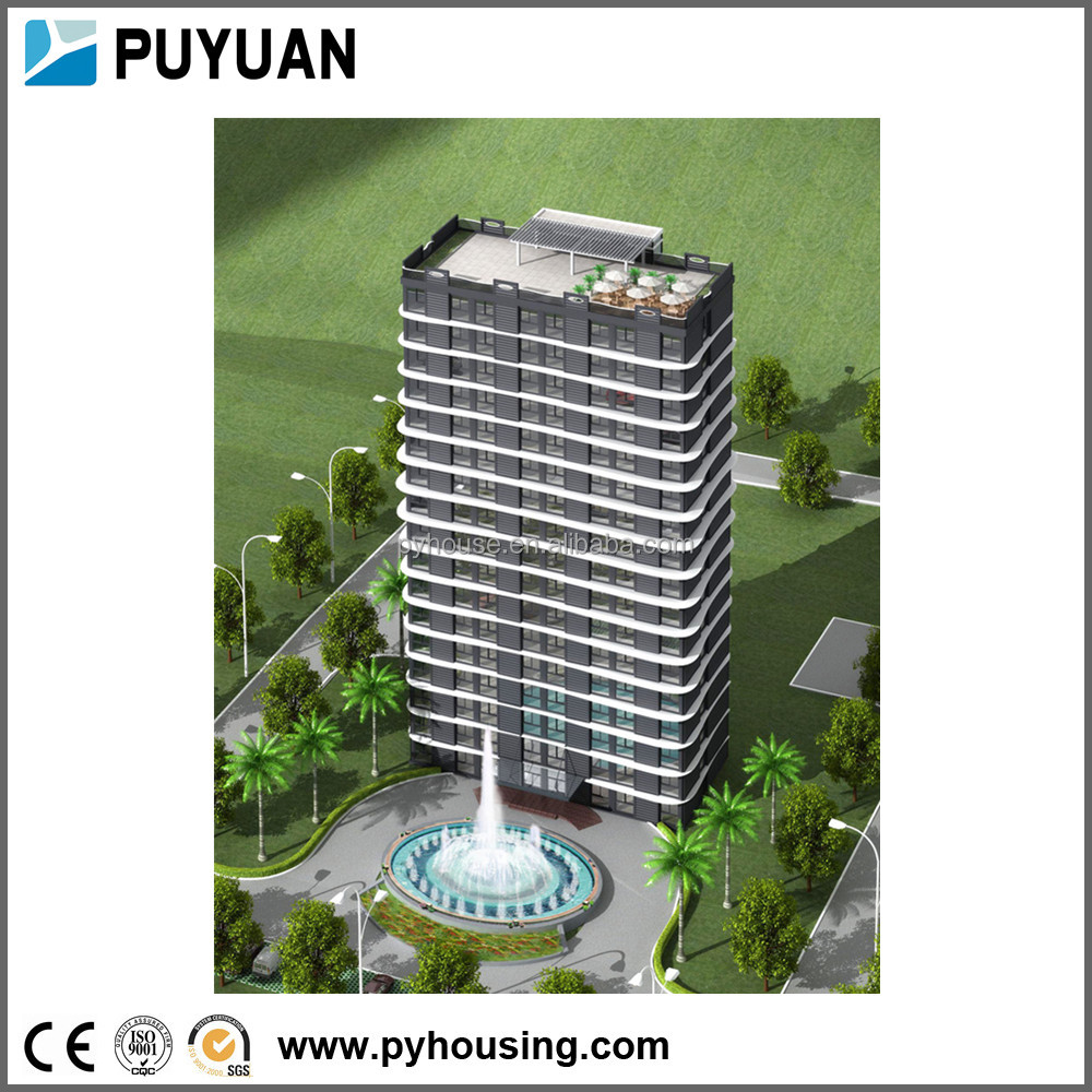 Puyuan Brand New Unique Design Fast Homes Villa Modern Prefab Modular Intelligent Container Building