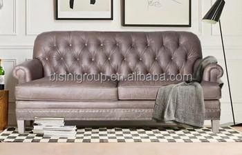 Divani Pelle Marrone Vintage : Di lusso stile italiano classic vintage marrone chiaro in vera