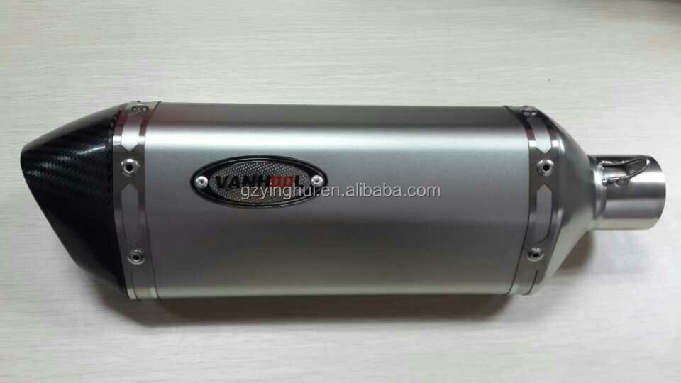 middle small hexagonal shape muffler silencer for the scooter motorcycle