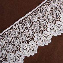Raw White Polyester Chemical Lace