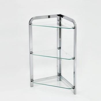 Bathroom Corner Stand 3 Tier Glass Shelf Buy Corner