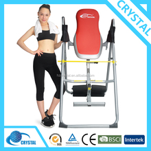 SJ-9060 Top quality home exercise back extension foldable inversion table for back pain