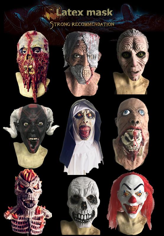 Hot Koop Hoge Kwaliteit Game Of Thrones-Nacht Koning Halloween Masker