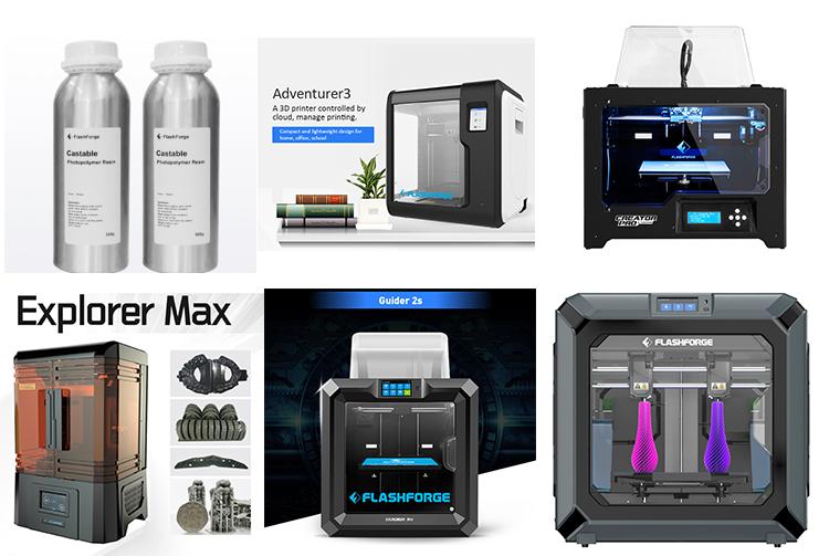 3D escáner 3D impresora paquete/metal 3d impresora