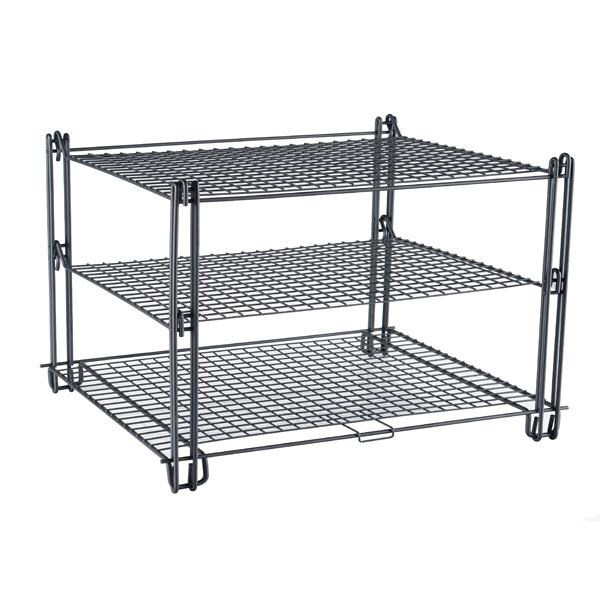 New Design 3 Tier Metal Wire Mesh Bread Cooling Rack