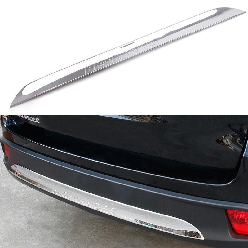 Car Rear Bumper Scuff Protective Sill Cover For Dodge Journey