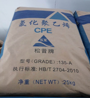 chemical raw material/Chlorinated polyethylene/impact modifier CPE 135A