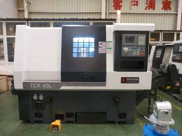 (TCK-40L/TCK-40HL) Hot sale slant bed mini lathe cnc with Spindle bore 56mm