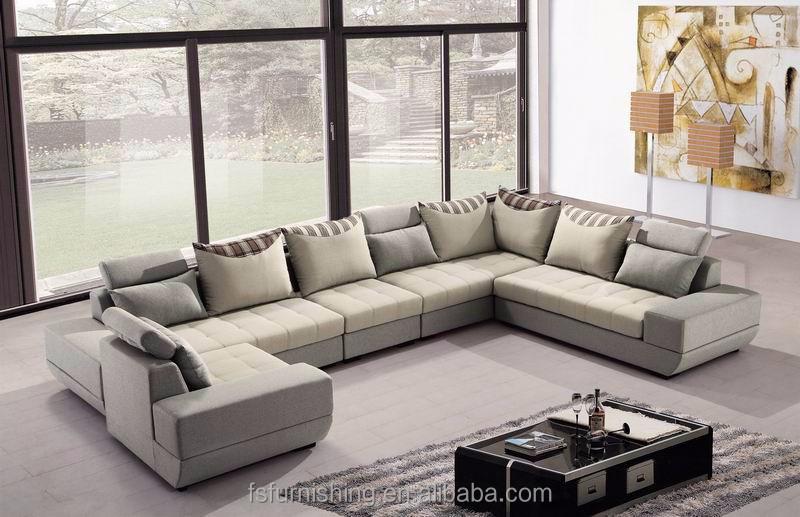 Sofa Para Sala De Estar Grande ~ tecido de veludo árabe grande U forma salão de sala de estar
