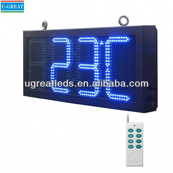 New inventions 2015 GPS Control digital timer clock led display