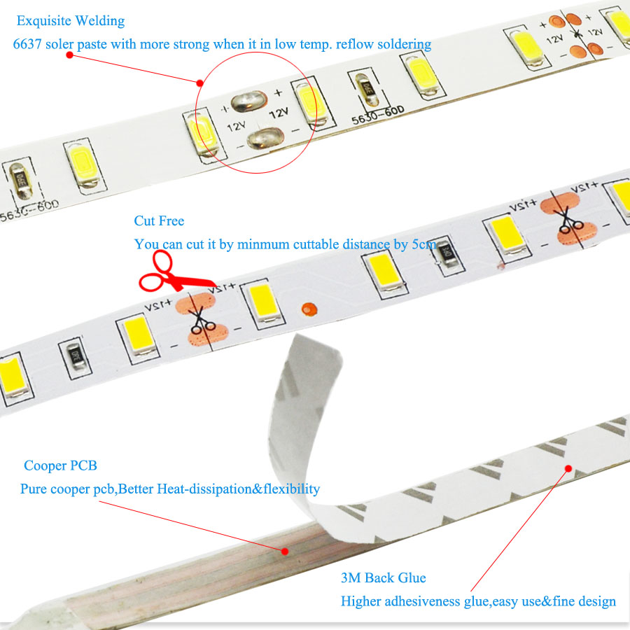 Lights & Lighting Jfbl 2x Adhesive Strip 300 Smd Led Rgb Remote Pool 5mt Led Table Lamps