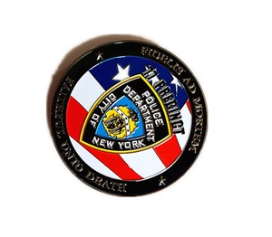 Custom US flag metal pins and metal badges