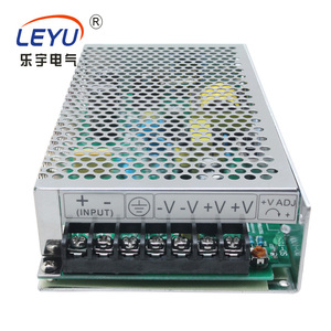 china 220v input D-100B 100w 5v 24v dual output industrial switcingh power supply with Over voltage protections