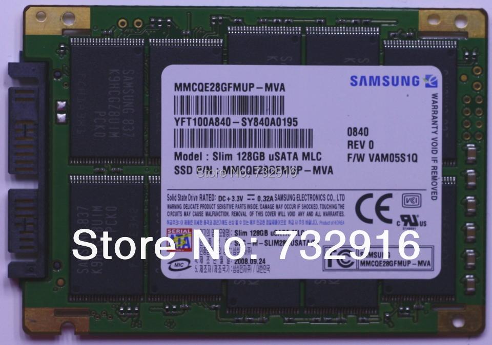 Free Shipping MMCQE28GFMUP MVA Slim 128GB uSATA MLC 128G Micro SATA 1 8 SSD Solid State