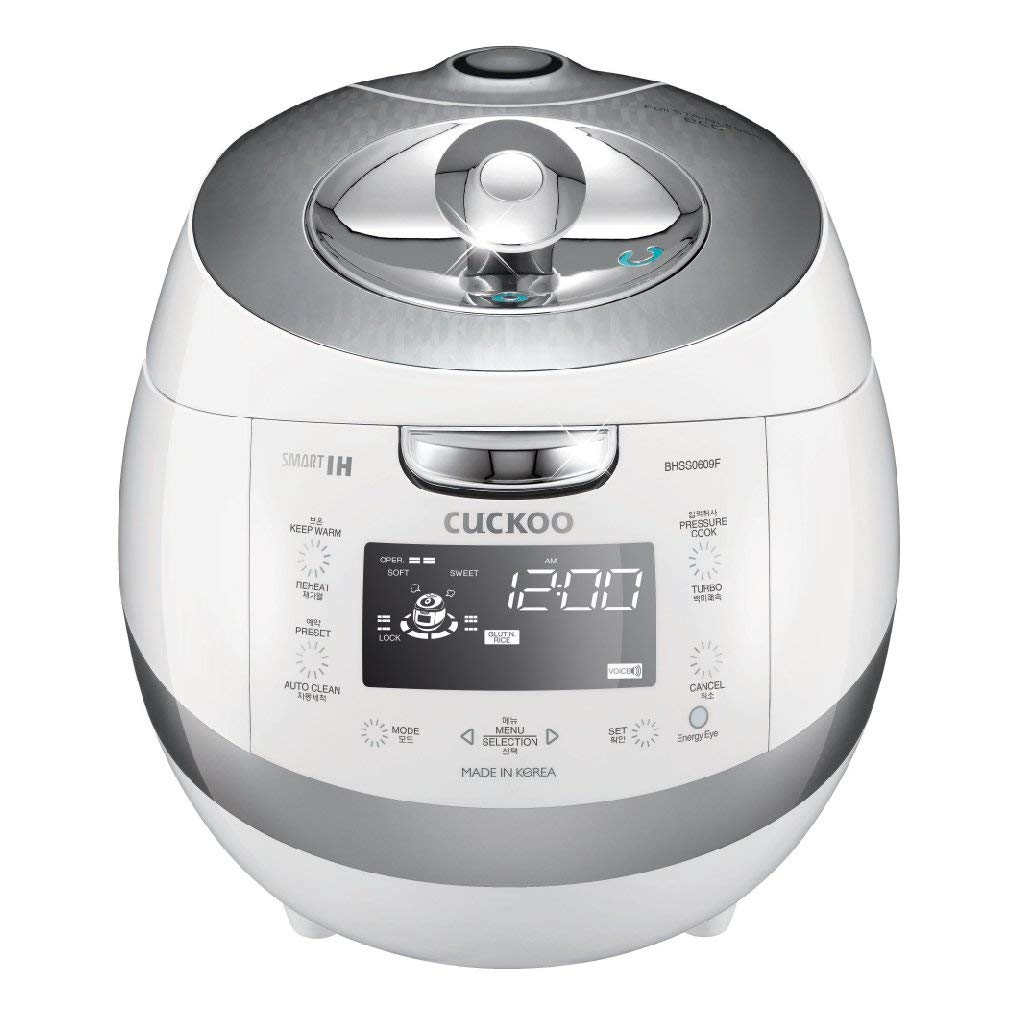 Cuckoo CRP-BHSS0609F 6 Cup Induction Heating Electric Pressure Rice Cooker