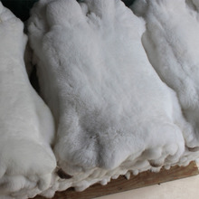 Natural Rex Rabbit Fur Skins / wholesale Rex Rabbit Fur Skins